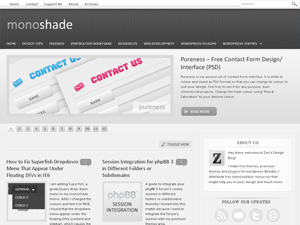 MonoShade Wordpress Theme