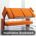 Post Thumbnail of Inspiration Bookmark : Creative Bedroom Design