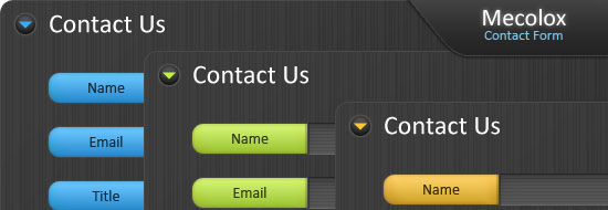 Post image of Mecolox – Free Contact Form Design/Interface (PSD)