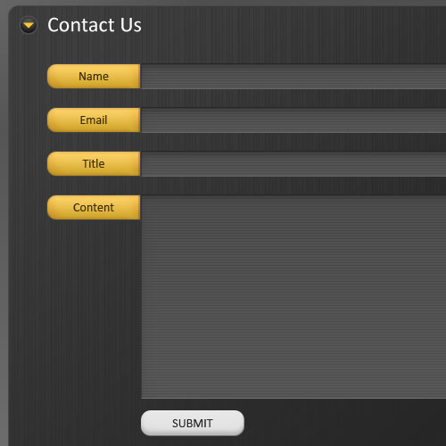 Mecolox - Free Contact Form Interface