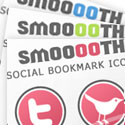 Post Thumbnail of Smooooth - Free Social Bookmark Icon Pack
