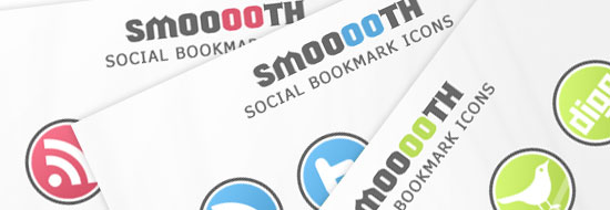 Post image of Smooooth – Free Social Bookmark Icon Pack
