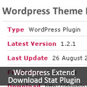 Post Thumbnail of Wordpress Extend Download Stat Plugin - Retrieve Statistics of Themes and Plugins Hosted at Wordpress Extend