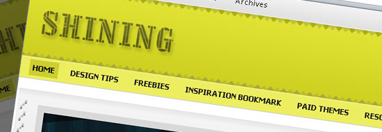 Post image of The Shining WordPress Theme : A Free Premium Theme