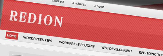 Post image of Redion WordPress Theme – Free Premium Red Theme