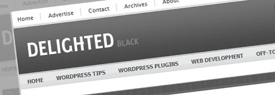 Post image of Delighted Black WordPress Theme – A Free Premium Greyscale Theme