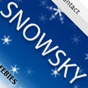 Post Thumbnail of Snow Sky - My First Free Premium Wordpress Theme in 2011