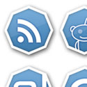 Post Thumbnail of Octalicious - Free Social Bookmark Icon and Logo Pack