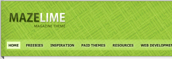 Post image of Maze Lime – Free Premium WordPress Magazine Theme