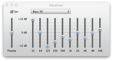 Best iTunes Equalizer Setting for Bass Lovers (Bass 3X / Mega Bass