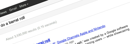 Post image of Do A Barrel Roll – Yet Another Fun Google Search Trick