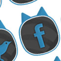 Post Thumbnail of Cat-Ears - Free Social Bookmark Buttons & Logo [PSD + PNG]