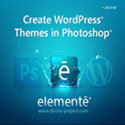 Post Thumbnail of Giveaway Contest - Divine Elemente, a PSD to WordPress Software